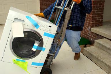 Kako pripremiti mašinu za pranje veša za selidbe