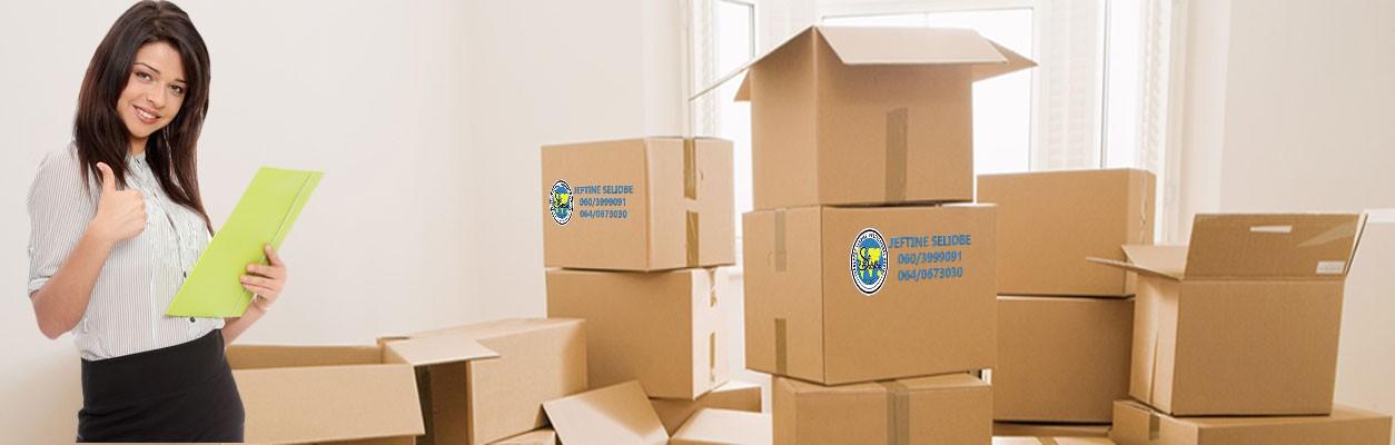 Pakovanje stvari za selidbe